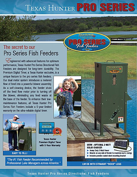 Beemer fisheries fish feeders for sale for Texas hunter fish feeder